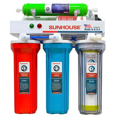 Máy lọc nước R.O 5 lõi Sunhouse SHR8805