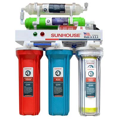 Máy lọc nước R.O 6 lõi Sunhouse SHR8806