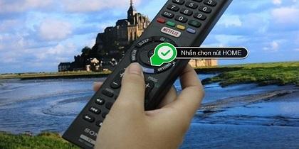 Cách khắc phục Tivi Sony không nhận điều khiển Remote