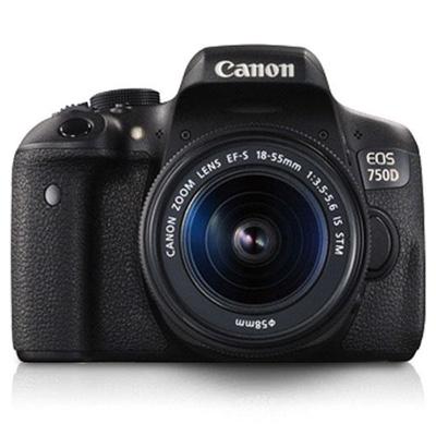 Máy ảnh Canon EOS 750D Kèm ống kính EF-S 18-55MM F/3.5-5.6 IS STM