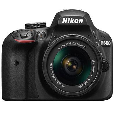 Máy ảnh Nikon D3400 ống kính SG 18-55MM