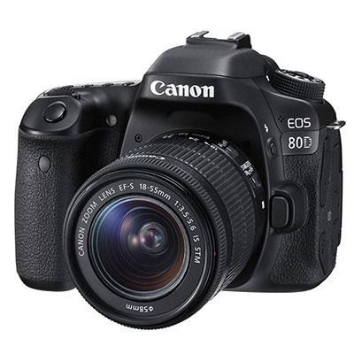 Máy ảnh Canon EOS 80D KIT 18-55 MM
