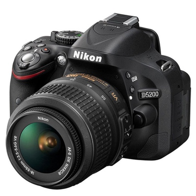 Máy ảnh Nikon D5200 ống kính 18-55 MM