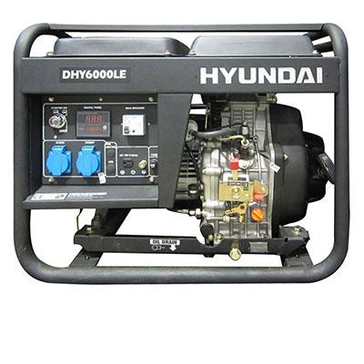 Máy phát điện Hyundai DHY6000LE