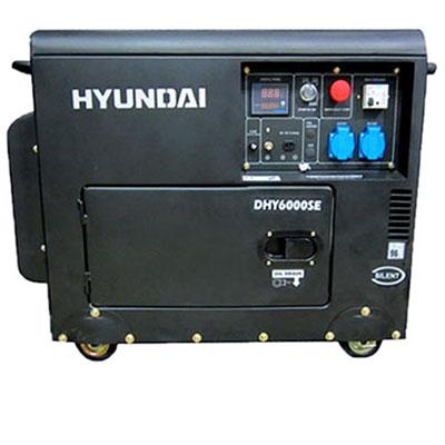 Máy phát điện Hyundai DHY6000SE