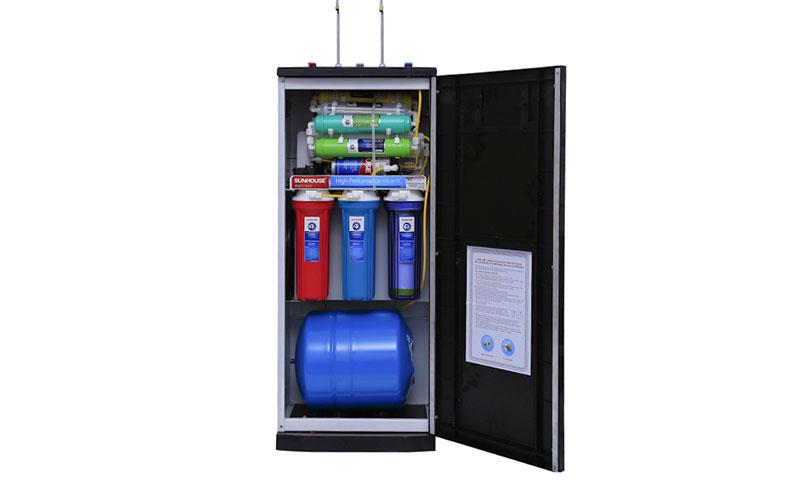 thiết bị lọc nước thô gia đình
