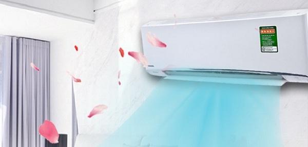 Chế độ Dry trên máy lạnh giúp tiết kiệm điện năng đáng kể