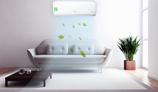Máy lạnh giúp căn phòng luôn mát mẻ
