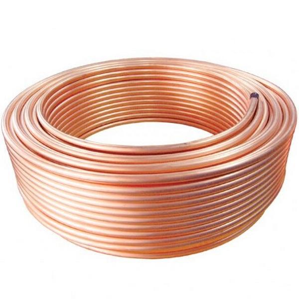 Ống đồng để dẫn gas nối với dàn nóng và dàn lạnh