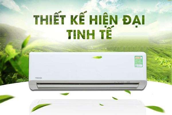 Máy lạnh Toshiba mang đến cho phòng không gian dễ chịu