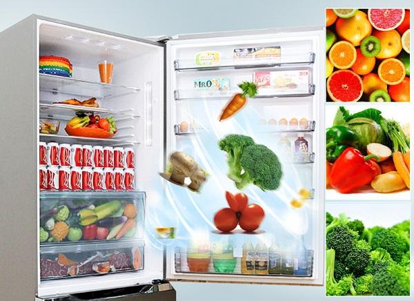 Sắp xếp các loại thực phẩm trong tủ một cách hợp lý