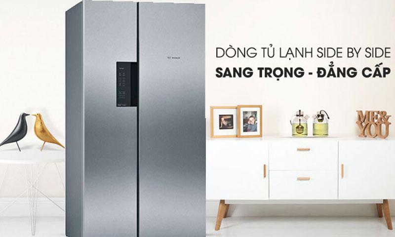 Tủ lạnh Bosch 604 lít KAN92VI35O | Nhà Nhà Vui